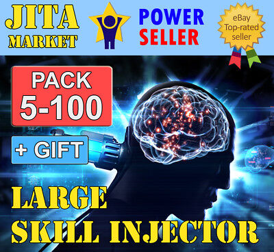 EVE Online Large Skill Injector x5-x100    Extremely FAST   Max SAFE   PLEX ISK