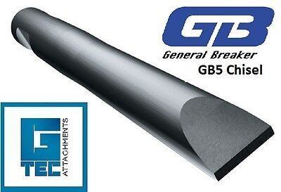 General Breaker GB5T Chisel Tool Moil Rock Breaker Hydraulic Hammer NEW GB