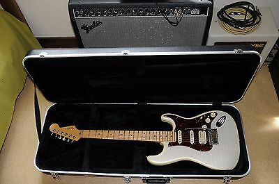 Fender Stratocaster Usa American Deluxe Plus Olympic Pearl 2010