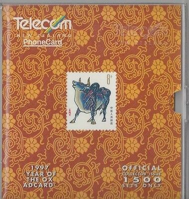 TK Telefonkarte/Phonecard 1997 Telecom New Zealand - Year of the Ox