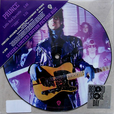 "Prince * Little Red Corvette / 1999 * Rsd Limited Edition 7"" Picture Disc * Bn&m"
