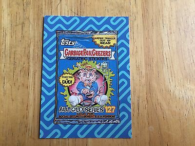 2017 WACKY PACKAGES 50TH ANNIVERSARY BEST OF THE '00s GARBAGE PAIL KIDS GPK 8 50