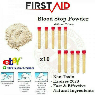 Blood Clot Powder Clotting Wound Seal Organic First Aid Quick Clot Blood Stop