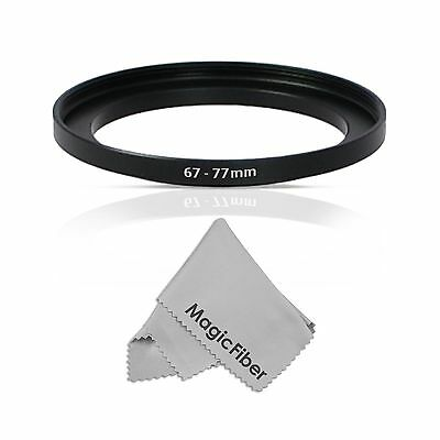 Goja 67-77MM Step-Up Adapter Ring (67MM Lens to 77MM Accessory) + Premium - NEW