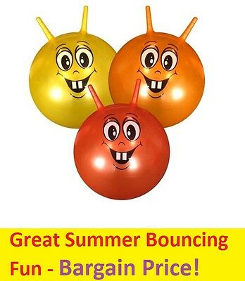 """18"""" Inch Large Jump n Bounce Space Hopper Retro Ball Kid Outdoor Fun Toy New"""