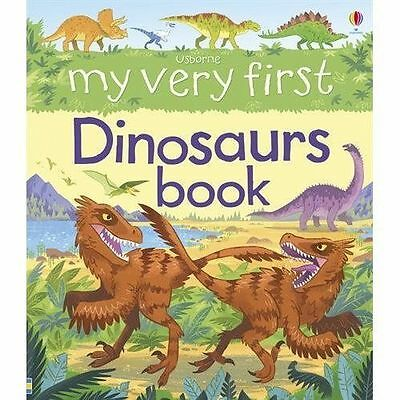 My Very First Dinosaurs Book-ExLibrary