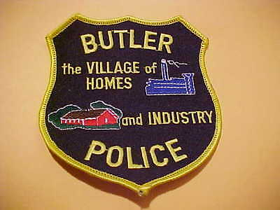 Butler Wisconsin Police Patch T2