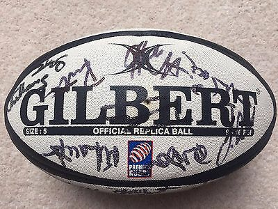 Newcastle Falcons Signed Rugby Ball