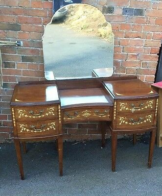 Edwardian Dressing Table With Beautiful Inlay