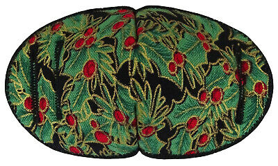 Medical Glasses Patch, GREEN CHRISTMAS, REGULAR Soft and Washable