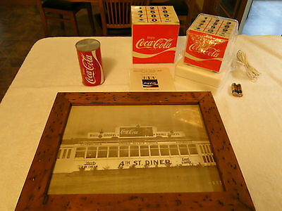 Coke, Coca-Cola Olympic Cube Telephone, Radio & picture Misc lot