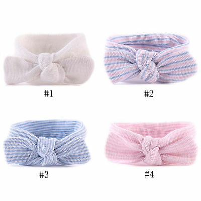 Turban Girls Infant Hospital Headbands Bowknot Hairbands Newborn Baby