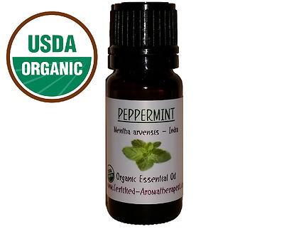 CERTIFIED ORGANIC PEPPERMINT arvensis Essential Oil undiluted Buy3 Get4th 1 FREE