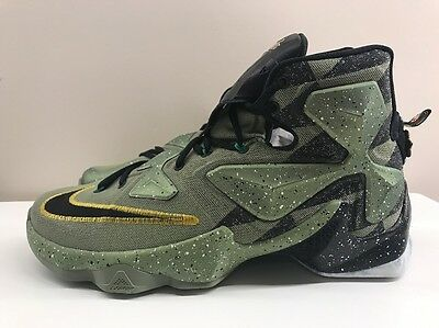 Nike LeBron XIII 13 ASG All Star Basketball UK 9.5 EUR 44.5 835659 309 Green