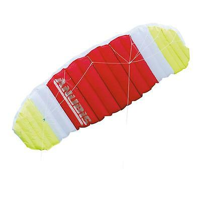 Large Multi-Coloured Tricks Stunts POWER KITE With Webbed Handles Kids Toy KITE
