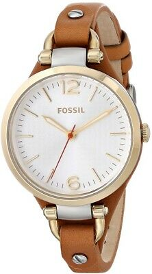 Fossil Women's ES3565 Georgia Gold-Tone Stainless Steel Watch