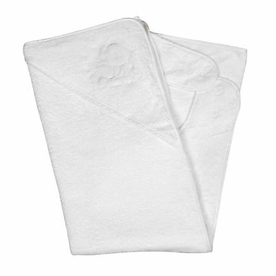 GREAT DEAL, Clevamama Splash and Wrap Baby Bath Towel (White) White