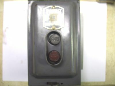 Usa Made Square D Manual Motor Starter 2510-W5 3Hp
