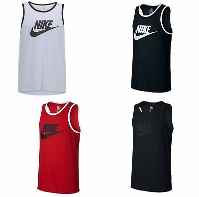 95be336df1a542 NEW NIKE MENS Ace Logo Tank Top Tri-blend
