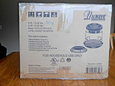 New In Box Nuwave Pro Infrared Cooking System Model 20356
