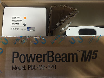 Ubiquiti Networks PBE-M5-620 5GHz PowerBeam M5 - In Box Never Deployed!