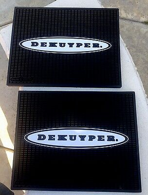 DeKuyper Bar Mats Lot Of 2