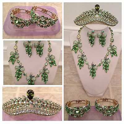 Khmer Cambodia Wedding Jewerly Set