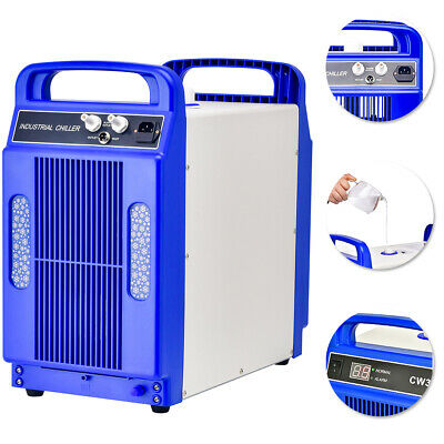 CW-3000DG110V Thermolysis Industrial Water Chiller for 60 / 80W CO2 Glass Tube
