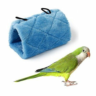 Parrot Bird Hammock Hanging Cave Cage Snuggle Happy Hut Tent Bed Bunk Parrot Toy