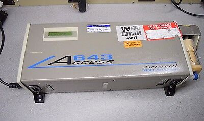 Anatel A643 Access TOC Analyzer w Accessories