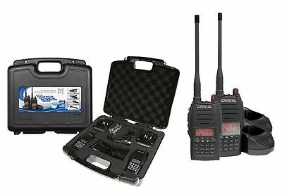 5W Handheld Uhf Cb Radio - Twin Pack