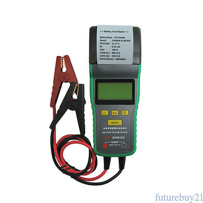 12V/24V Digital LCD Car Battery Load Tester Analyzer Diagnostic Test Tool AU
