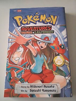 Pokemon Adventures Fire Red and Leaf Green Volume 25 Manga Book
