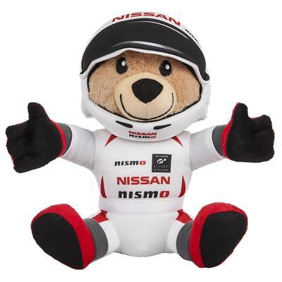 Nissan Nismo Teddy Bear in Race Suit + Helmet Juke 370Z GTR New Genuine NISMO24