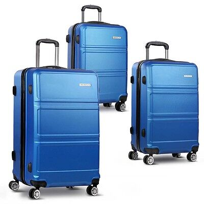 3pc Luggage Set 20, 24 and 28 Inch – Navy