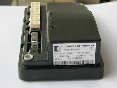 New CURTIS 1212-2401 24V / 70A Permanent Magnet Motor Speed Controller