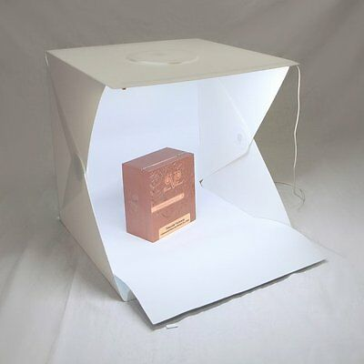 40cm Foldable Desktop Studio Lighting Cube Box Shooting LED Light Tent Room Kit
