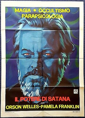 Manifesto Poster Movie Cinema Il Potere Di Satana Necromancy Welles Horror Us Sa
