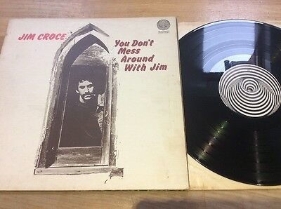 Jim Croce - You Don't Mess Around With Jim Lp Vertigo Swirl