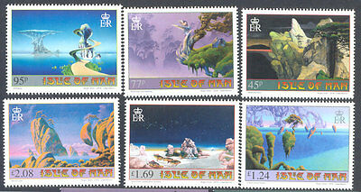 Isle of Man-Art of Roger Dean - mnh 2016-Fantasy