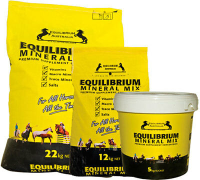 Equilibrium Mineral Mix HORSE EQUINE HEALTH SUPPLEMENT 5 KG -  22 KG