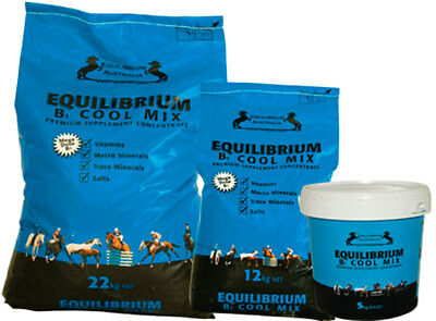 Equilibrium B1 Cool Mix HORSE EQUINE HEALTH SUPPLEMENT 5 KG -  22 KG