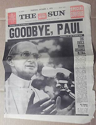 1970 The Sun~ Sydney 'goodbye, Paul' Pages 1-4