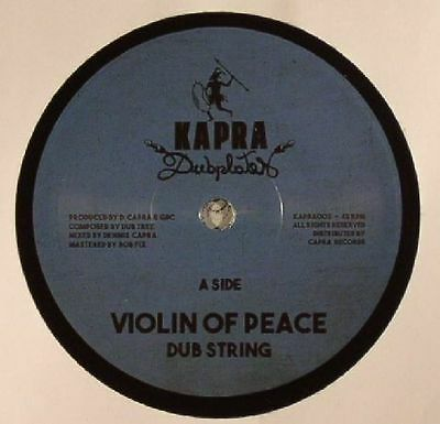 "DUB STRING/DENNIS CAPRA - Violin Of Peace - Vinyl (7"")"