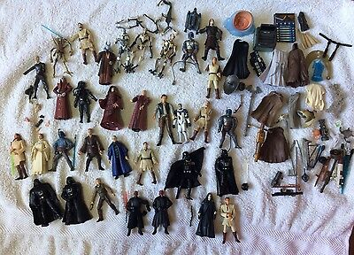 Hasbro Lot Star Wars Future Vintage Figures And Accessories Collection