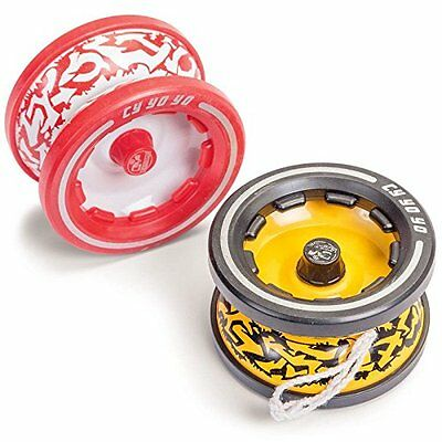 Stunt tricks Yo-Yo, 1 x random colour, child's traditional playground toy 21735