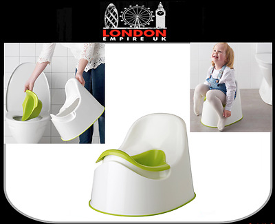 Potty Chair Seat Kids Children Baby Training Removable Toilet Seat Ikea Lockig