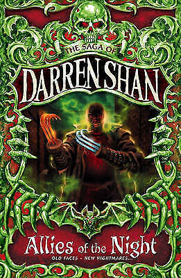 Allies of the Night by Darren Shan (Paperback, 2002)-9780007137800-G024
