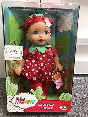 LITTLE MOMMY Dress Up Cuties ~Berry Cute!~ Strawberry Baby BRAND NEW!