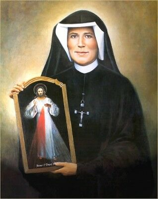 Catholic Mass Offered Upon Altar With First Class Relic Of Saint Faustina